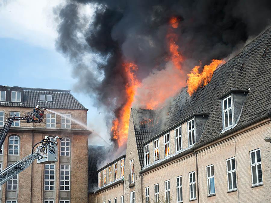 brand i experimentarium i København