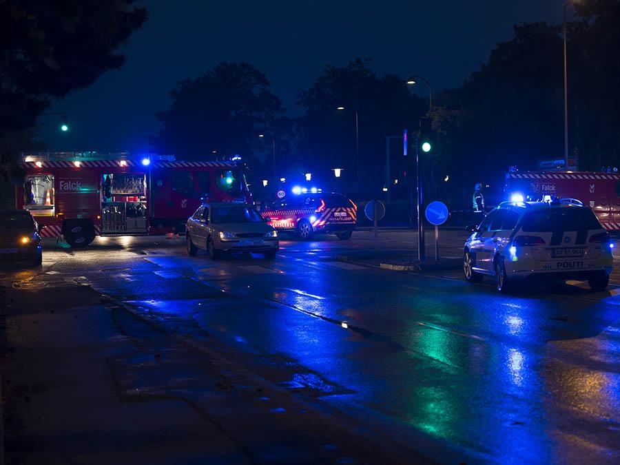 Trafik ullykke bernstorffvejen og Tuborgvej