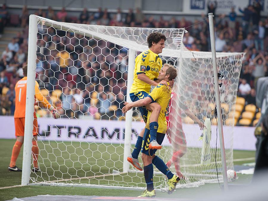 Teemu Pukki score mod fc nordsjælland den 30 august 2015