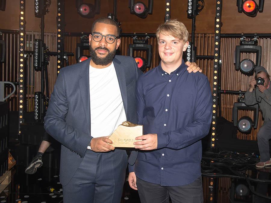 Ukendt Kunster vinder p3 guld prisen i dr koncerthuset 16 oktober 2015